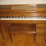 Photo of our Piano for our CraigsList Ad