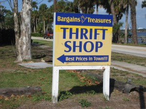 Some of the best things to sell on eBay come from thrift shops!