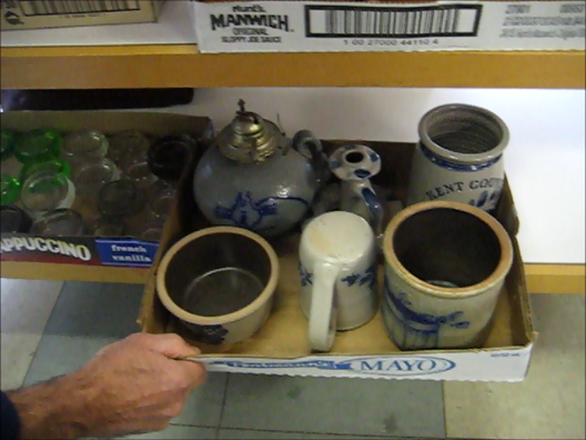 Pottery Lot New Video As Promised! Results from Selling at Live Auction