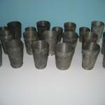Antique Pewter Souvenir Cups